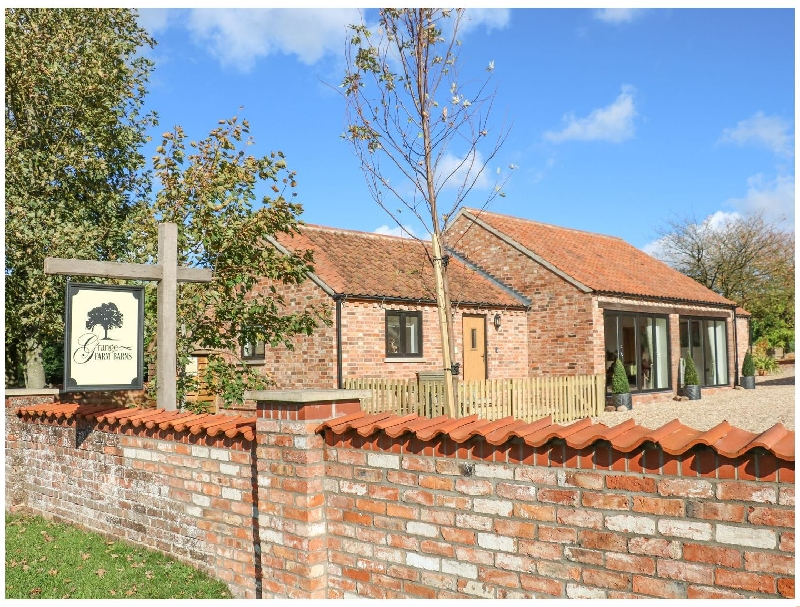 The Cottage at Grange Farm Barns a holiday cottage rental for 4 in Hemingby,