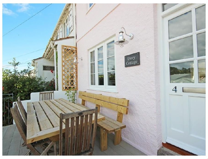 Dory Cottage a holiday cottage rental for 6 in Salcombe,