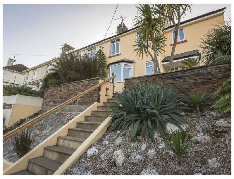 Home a holiday cottage rental for 8 in Salcombe,