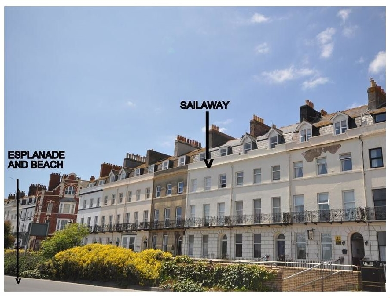 Sail Away a holiday cottage rental for 2 in Weymouth,