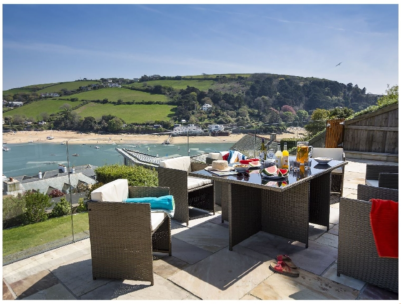 Waterside View a holiday cottage rental for 6 in Salcombe,