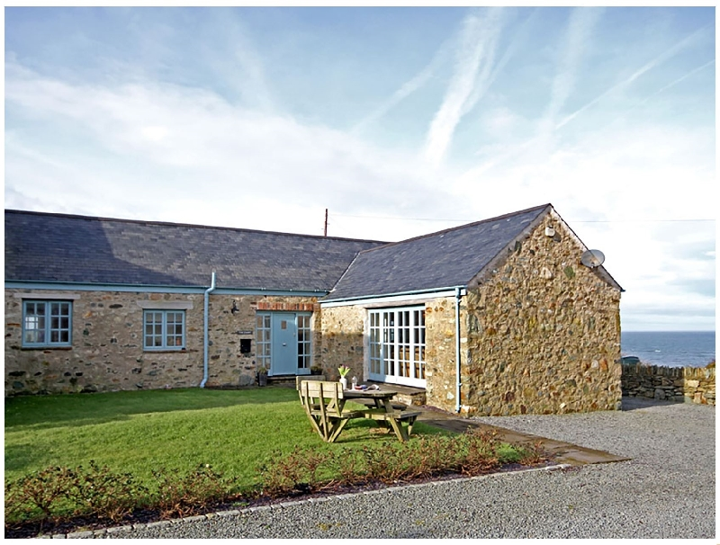 Dairy - Borthwen a holiday cottage rental for 4 in Church Bay,