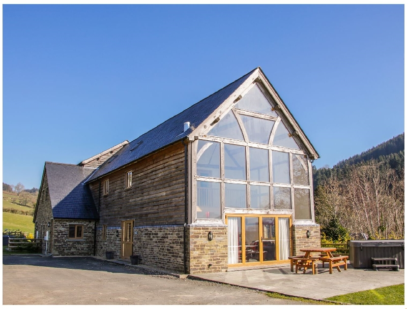 The Hayloft a holiday cottage rental for 11 in Bleddfa,