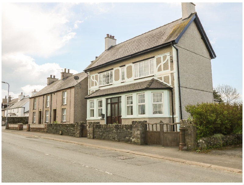 Minffordd a holiday cottage rental for 10 in Newborough,
