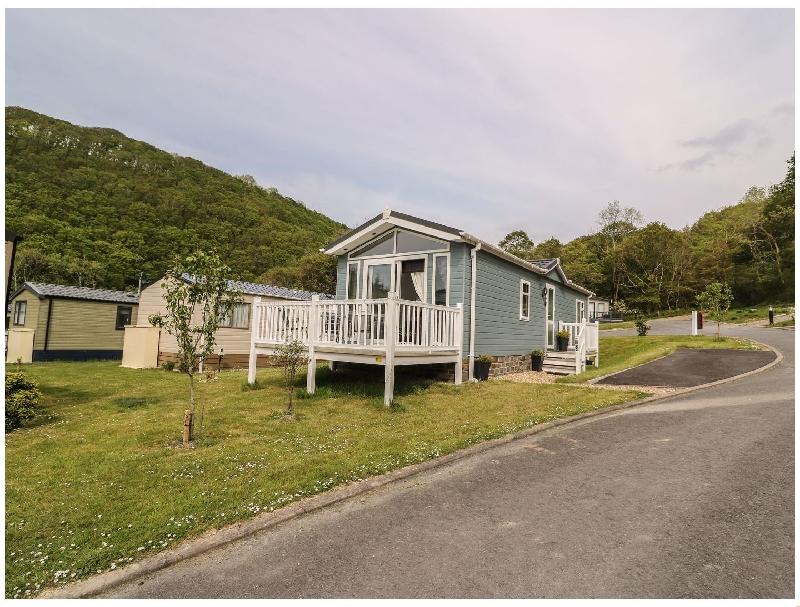 Salisbury Lodge a holiday cottage rental for 4 in Llanarth ,