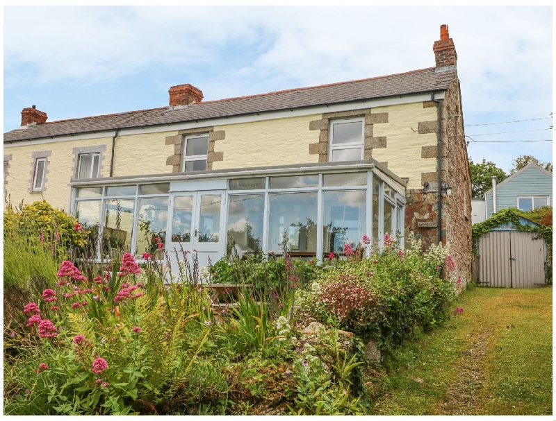 Nanvivian a holiday cottage rental for 6 in Feock,