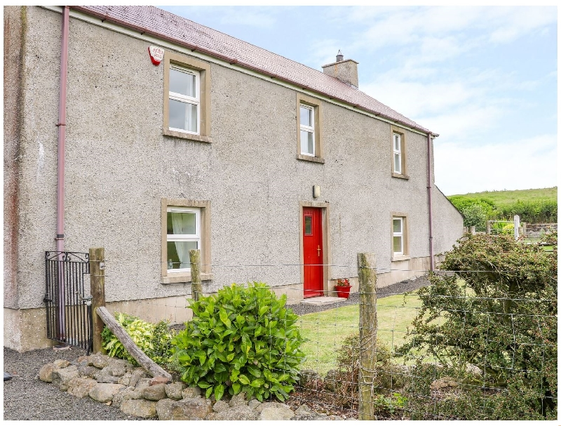 Shaws Hill Farmhouse a holiday cottage rental for 5 in Kells,