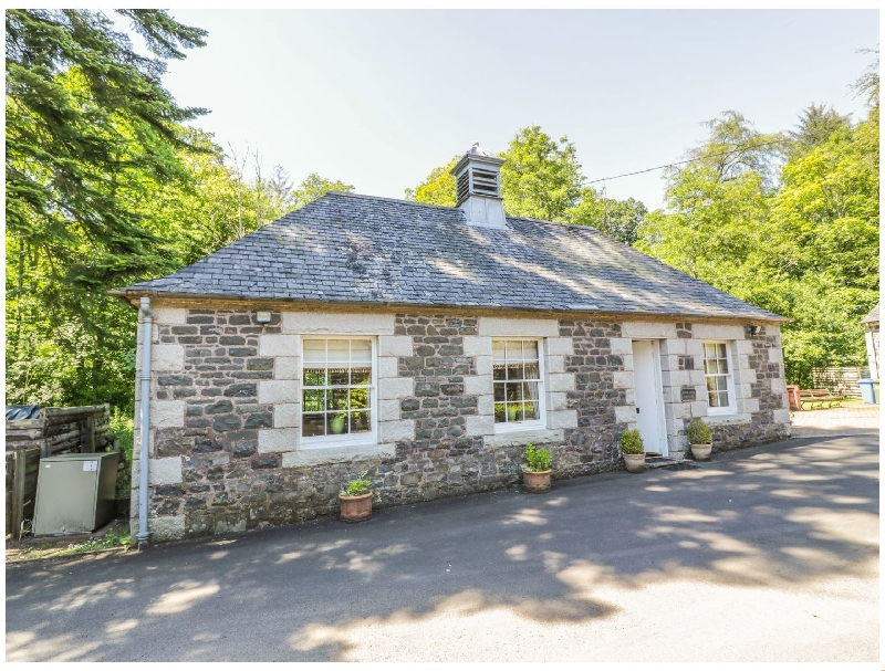 Duck Pond Cottage a holiday cottage rental for 2 in Kirkmichael,