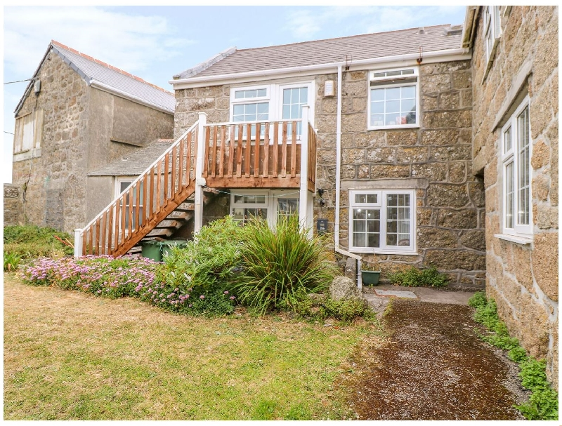 Nanturras a holiday cottage rental for 2 in Sennen,