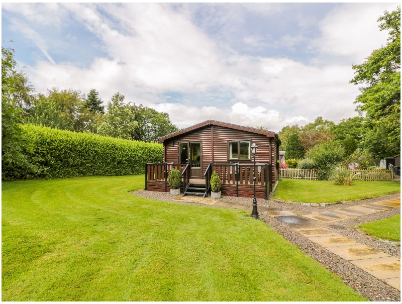 The Spinney Lodge a holiday cottage rental for 2 in Jedburgh,