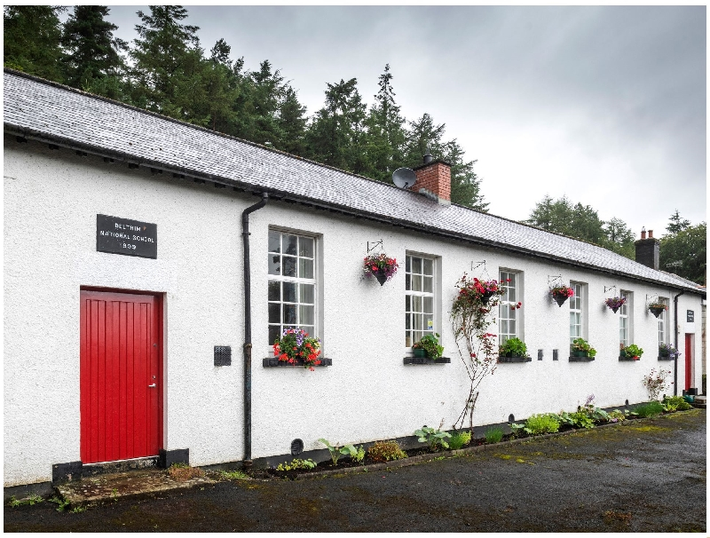 The Old School a holiday cottage rental for 4 in Gortin,