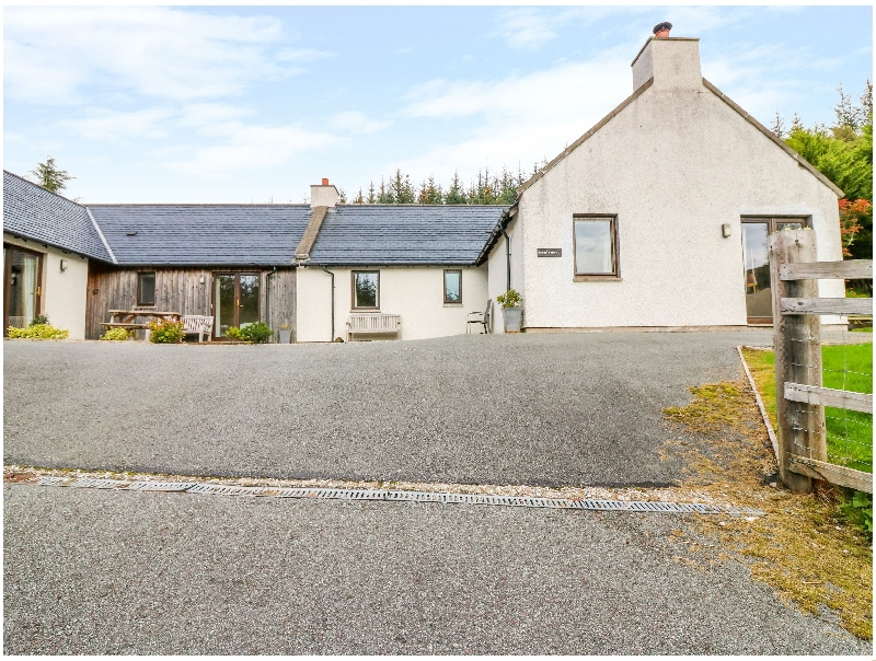 Taigh Geal a holiday cottage rental for 6 in Plockton,