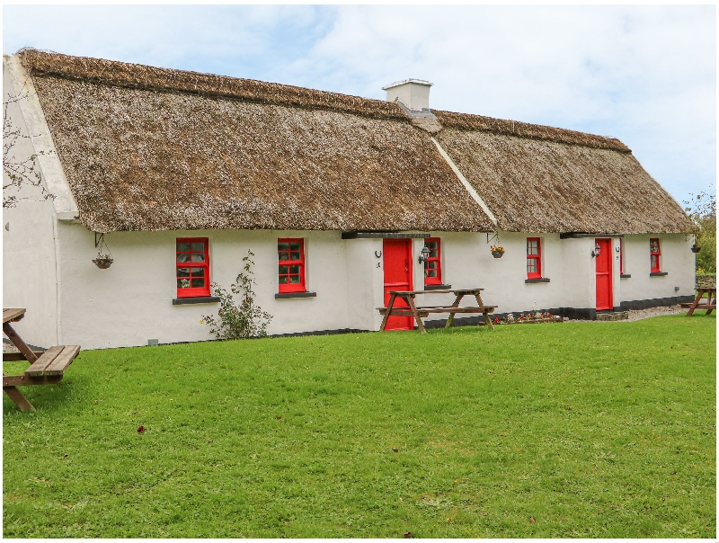 No. 10 Tipperary Thatched Cottage a holiday cottage rental for 4 in Puckane,