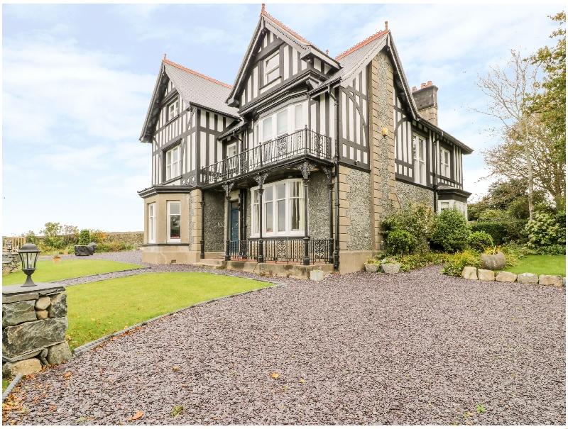 Plas Y Bryn Hall a holiday cottage rental for 14 in Llanbedr,