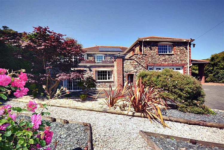 Swan Haven a holiday cottage rental for 12 in Torcross,