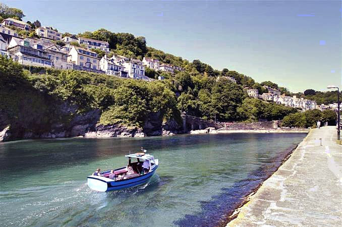 Amber a holiday cottage rental for 4 in Looe,