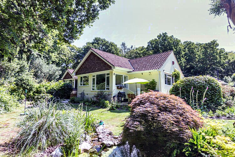 Treeside a holiday cottage rental for 4 in Woodgreen,