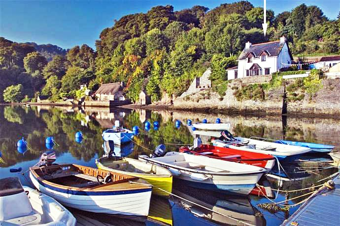 Cliff Cottage a holiday cottage rental for 6 in Dittisham,