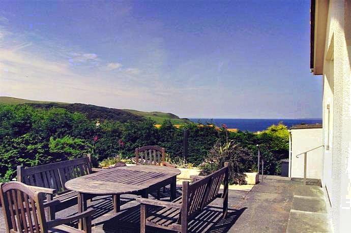 Devon House a holiday cottage rental for 8 in Hope Cove,