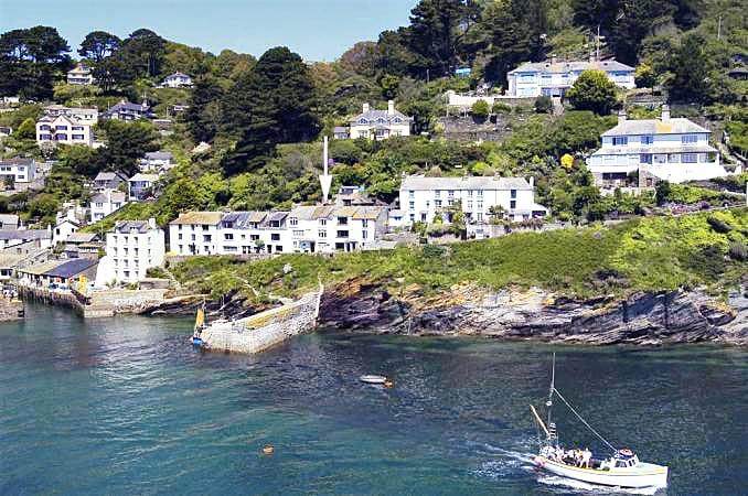 East Cliff a holiday cottage rental for 4 in Polperro,